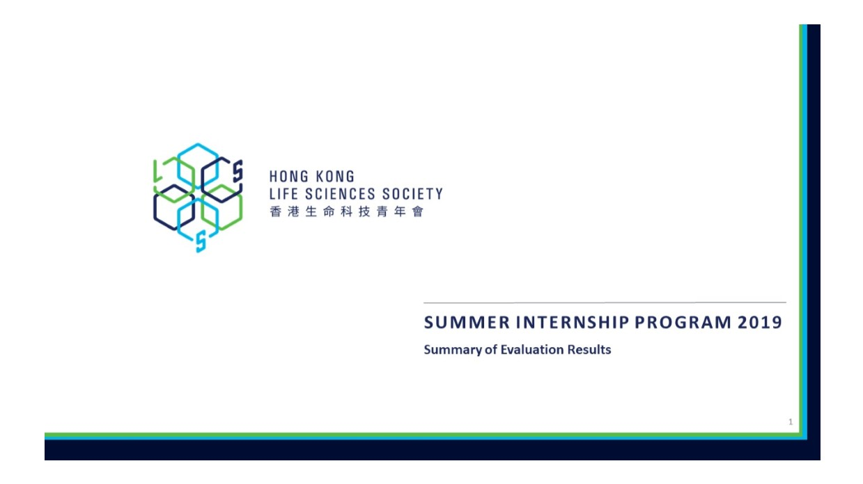 HKLSS_Life sciences_Biotechnology_Internship_Survey Results_1